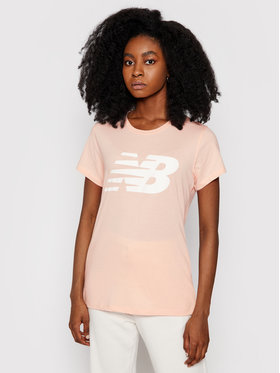New Balance New Balance T-Shirt Fly WT01852 Pomarańczowy Athletic Fit