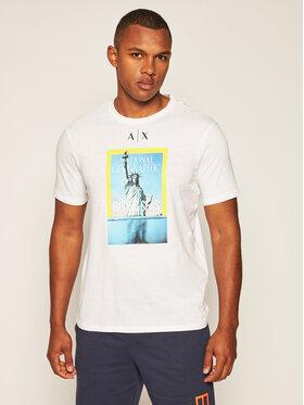 Armani Exchange Armani Exchange T-shirt 6HZTEE ZJ3DZ 1100 Bianco Regular Fit