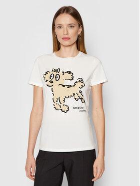 Weekend Max Mara Weekend Max Mara T-Shirt Rana 59760419 Weiß Regular Fit