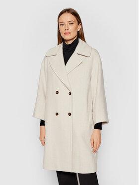 Marella Marella Płaszcz przejściowy Negus 30161218 Beżowy Regular Fit
