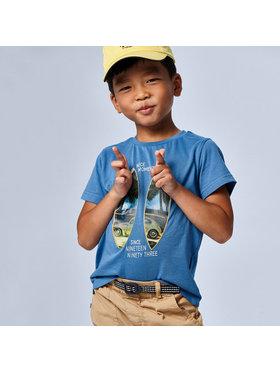 Mayoral Mayoral T-Shirt 3030 Blau Regular Fit