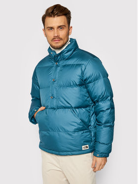 The North Face The North Face Пухено яке Sierra Anorak NF0A4QZLQ31 Син Regular Fit