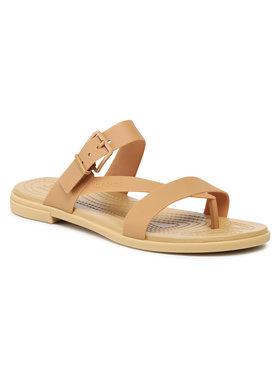 Crocs Crocs Infradito Tulum Toe Poost Sandal W 206108 Marrone