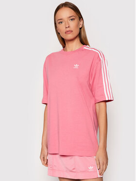 adidas adidas T-Shirt adicolor Classics H37797 Różowy Oversize