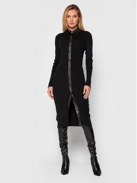 Pinko Pinko Úpletové šaty Rubesco 1G16AL Y77N Čierna Slim Fit