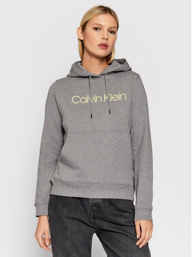 Calvin Klein Calvin Klein Μπλούζα Core Logo K20K202687 Γκρι Regular Fit