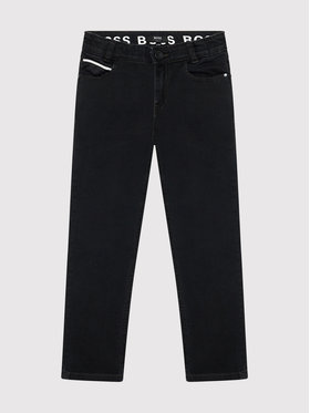 Boss Boss Džínsy J24729 S Čierna Slim Fit
