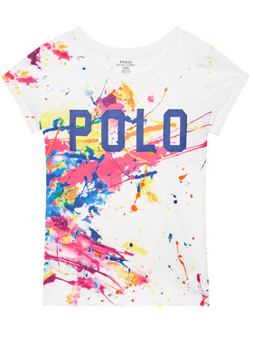 Polo Ralph Lauren Polo Ralph Lauren T-Shirt Polo 312833551001 Biały Regular Fit