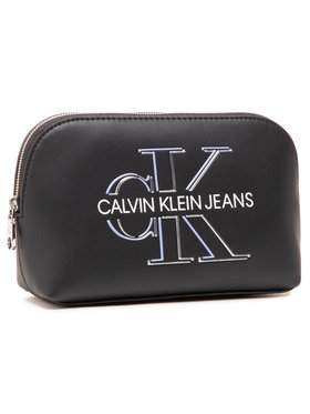 Calvin Klein Jeans Calvin Klein Jeans Pochette per cosmetici Cosmetic Pouch Glow K60K607632 Nero
