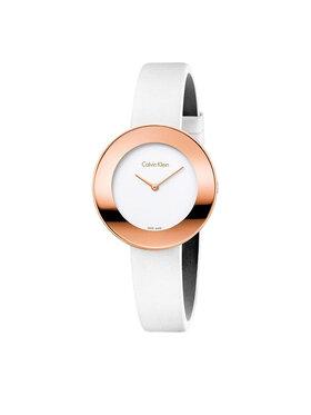 Calvin Klein Calvin Klein Часовник Lady K7N236K2 Бял