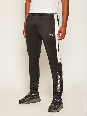 Puma Puma Παντελόνι φόρμας Bmw M T7 597992 Μαύρο Regular Fit