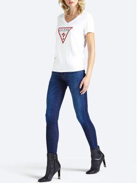 Guess Guess Skinny Fit džíny Curve X W93AJ2 D3BP3 Tmavomodrá Skinny Fit