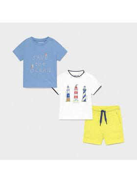 Mayoral Mayoral 2er-Set T-Shirts und Shorts 1670 Bunt Regular Fit