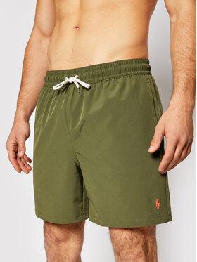 Polo Ralph Lauren Polo Ralph Lauren Szorty kąpielowe Traveler 710829851006 Zielony Regular Fit