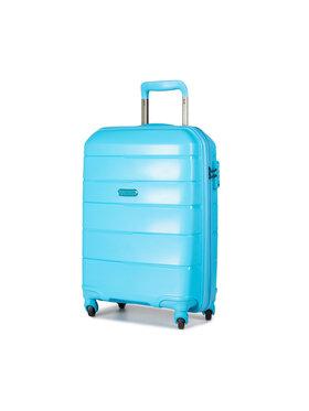 Puccini Puccini Malý pevný kufor Bahamas PP016C 7 Modrá