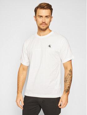Calvin Klein Jeans Calvin Klein Jeans Póló J30J315738 Fehér Regular Fit