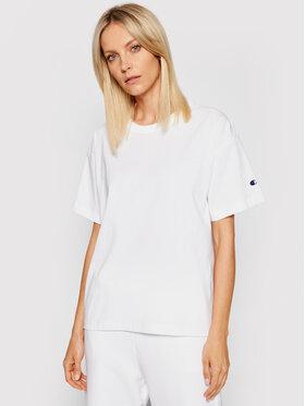 Champion Champion T-Shirt 114194 Weiß Regular Fit
