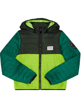 LEGO Wear LEGO Wear Пухено яке LwJoshua 606 22922 Зелен Regular Fit