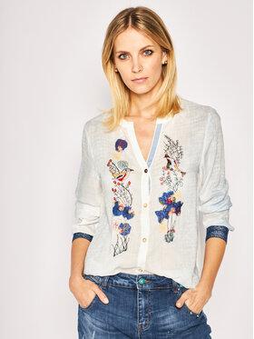 Desigual Desigual Marškiniai Matera 20SWCW22 Balta Regular Fit