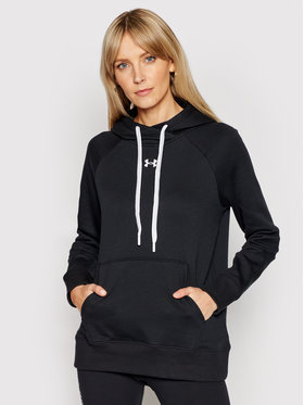 Under Armour Under Armour Pulóver Rival 1356317 Fekete Regular Fit