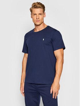 Polo Ralph Lauren Polo Ralph Lauren T-Shirt Sle 714844756002 Σκούρο μπλε Regular Fit