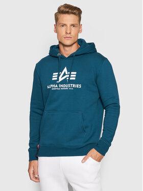 Alpha Industries Alpha Industries Sweatshirt Basic 178312 Bleu marine Reglar Fit