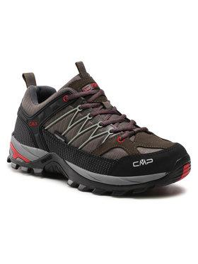 CMP CMP Bakancs Rigel Low Trekking Shoe Wp 3Q54457 Zöld