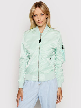 Alpha Industries Alpha Industries Bomber Ma-1 Vf Lw 156001 Verde Regular Fit