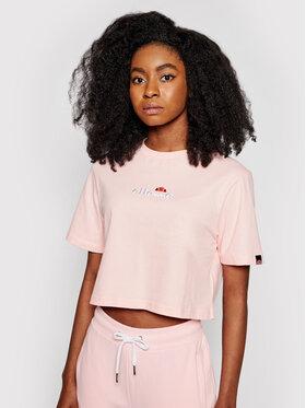 Ellesse Ellesse T-Shirt Fireball SGB06838 Rosa Loose Fit