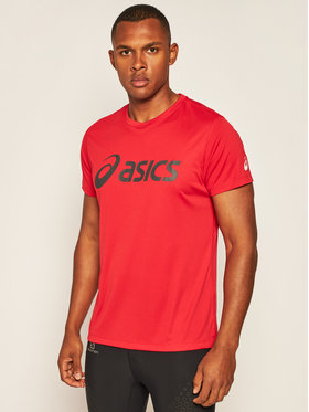 Asics Asics Techniniai marškinėliai Silver 2011A474 Raudona Regular Fit
