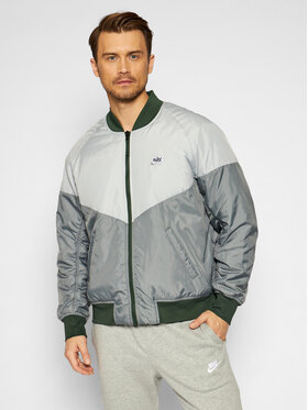 Nike Nike Bomber dzseki Sportswear CZ9998 Szürke Loose Fit