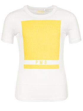 Primigi Primigi T-Shirt Jersey 43222021 Biały Regular Fit
