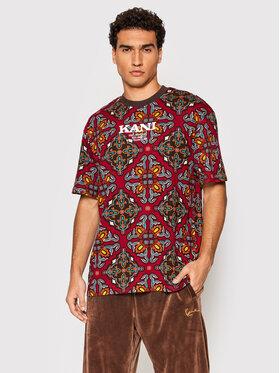 Karl Kani Karl Kani T-Shirt Retro Ornamental 6030942 Rot Regular Fit