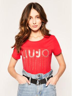 Liu Jo Sport Liu Jo Sport T-Shirt TA0109 J5003 Rot Regular Fit
