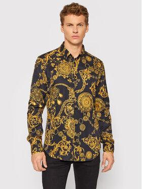 Versace Jeans Couture Versace Jeans Couture Koszula Print Baroque Bijoux 71GAL2S0 Czarny Regular Fit