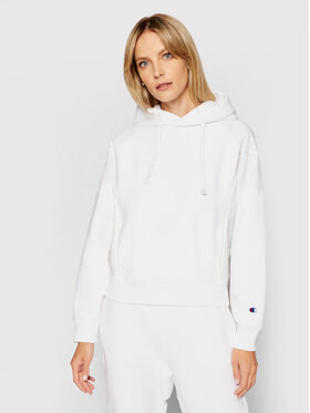 Champion Champion Sweatshirt Reverse Weave 114188 Weiß Custom Fit