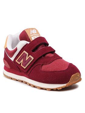 New Balance New Balance Sneakersy PV574AD1 Bordowy