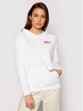 New Balance New Balance Bluza WT03802 Biały Relaxed Fit