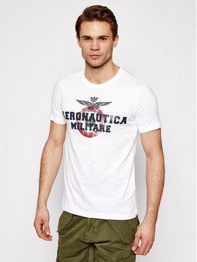 Aeronautica Militare Aeronautica Militare T-shirt 211TS1843J511 Bijela Regular Fit