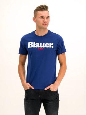 Blauer Blauer T-shirt 19WBLUH02231 005568 Blu scuro Regular Fit