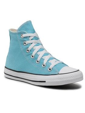 Converse Converse Sneakers aus Stoff Ctas Hi Blue Gaze 170799C Blau