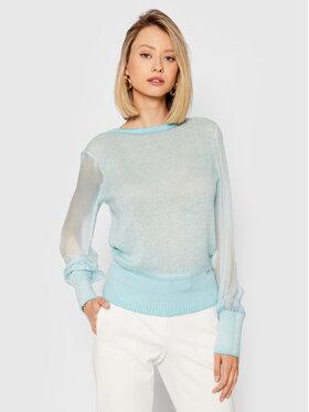 Guess Guess Sweter Danila W1BH07 WE520 Niebieski Slim Fit
