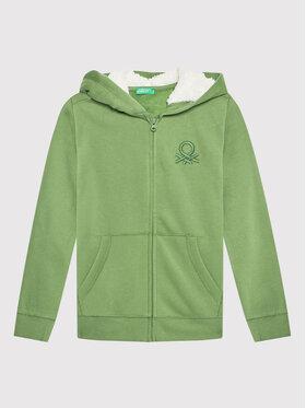 United Colors Of Benetton United Colors Of Benetton Bluză 3EB5C5829 Verde Regular Fit