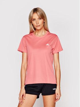 adidas adidas Techniniai marškinėliai Designed 2 Move GL3724 Rožinė Regular Fit