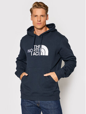 The North Face The North Face Bluza NF00AHJY NF00AHJYM6S1 Granatowy Regular Fit