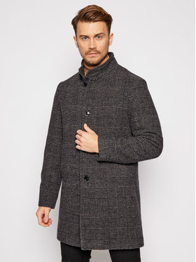 Pierre Cardin Pierre Cardin Vlnený kabát 71790/000/4736 Sivá Regular Fit