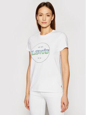 Levi's® Levi's® T-shirt The Perfect 17369-1295 Bianco Regular Fit