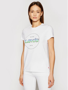 Levi's® Levi's® Тишърт The Perfect 17369-1295 Бял Regular Fit