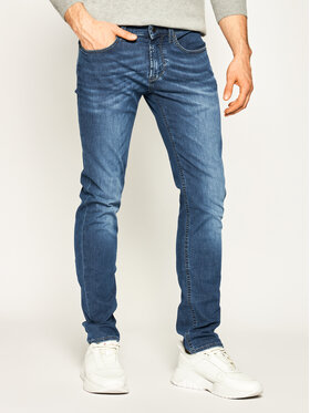 Baldessarini Baldessarini Džinsai Straight Leg John 16511 1439 Tamsiai mėlyna Straight Fit