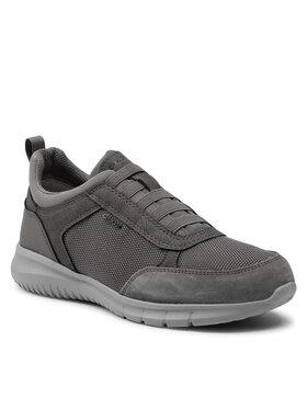 Geox Geox Sneakersy U Monreale C U15BVC 01122 C1018 Sivá